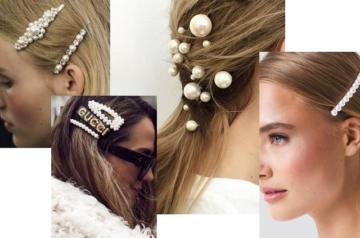 spinki z perłami DIY
