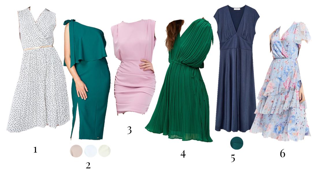 sukienki na wesele 2021 z sieciowek