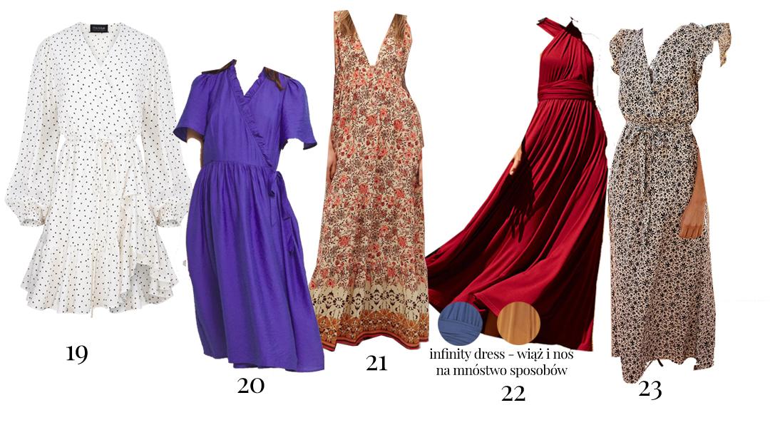sukienki koktajlowe na wesele 2021